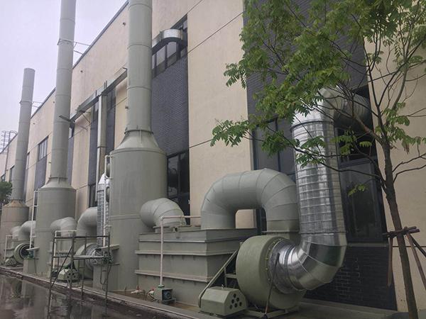 常州废气净化装置的处理过程